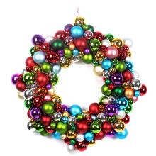 "Nouvelle conception 24 ""Star Shape Xmas Ball Wreath"