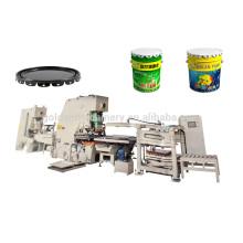 Máquinas de fabricação de tampa superior de tambor de tinta de metal 10-25L