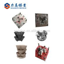 pot planter plastic mould large size design service highly production garden pot plastic injection mould
