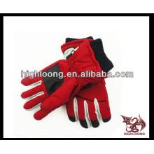 Женщины теплые дешевые пользовательские лыжные перчатки