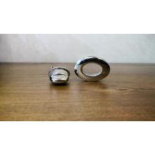 professional factory high quality metal oval handbag locks