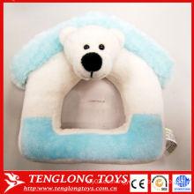 Regalo caliente del día de los niños de la venta Marco encantador de la foto del juguete del oso polar