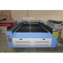 Machine en bois de graveur de laser de cuir de tissu en bois