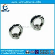 China Fixador DIN582 Stock Aço inoxidável Lifting Eye Nuts