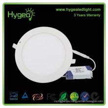 9w Diffused round led panel light 600mm ultra thin cob led panel light