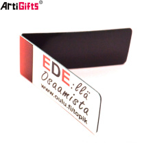 Blank Metal Printing Logo Book mark ,Souvenir Hologram Stainless Steel Korean 3d Magnet Bookmark