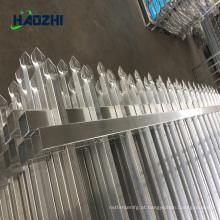 cerca de cerca de alumínio horizontal