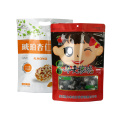 Custom print side gusset stand up pouch dry dog food bag for pet dog food packaging
