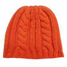 Lady Fashion Wool Acrylic Knitted Winter Warm Hat (YKY3104)
