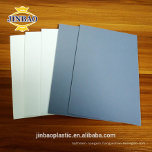 Jinbao 4'x8' 1220x2440 3mm 5mm 8mm pvc rigid sheet wall panel