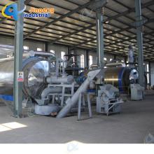 Plástico usado para la máquina de la pirólisis del neumático diesel