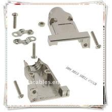 Beige DB9 couvercle DB-9 HD15 coque métallique