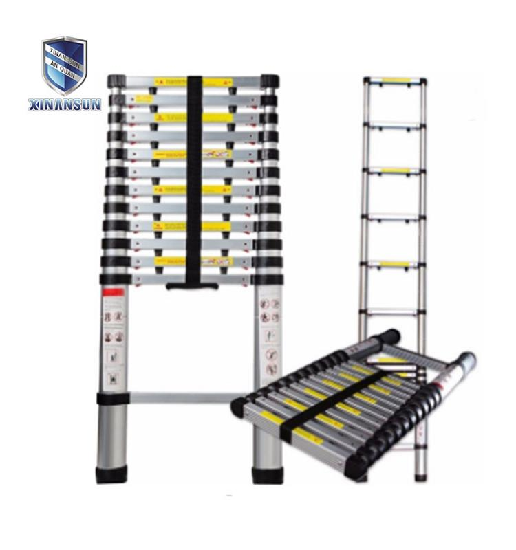 13 steps telescopic ladder