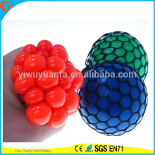 Hot Selling Novelty TPR Squeezable Mesh Ball