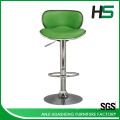 Selling aluminium colorful choice swivel bar high chair