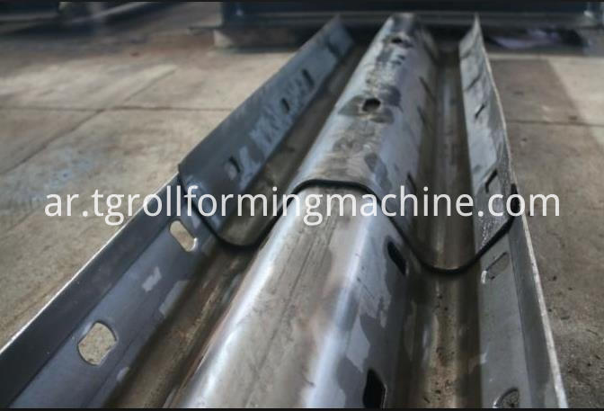 Two Waves Guardrail Roll Forming Machine