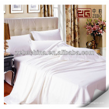 Lençóis de cama por atacado para uso de hotel 5 estrelas