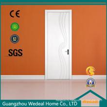 Твердые деревянные двери лак для дверей из ХДФ кожи (WDHO78)