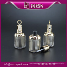 8ml plastic bottle with brush for nail polish,high quality nail polish bottle