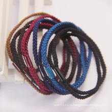 Леди мода Твист ткачество эластичный резиновый резинки для волос (JE1583)