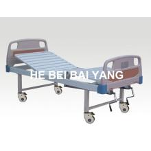 Cama de hospital manual de função dupla funcional