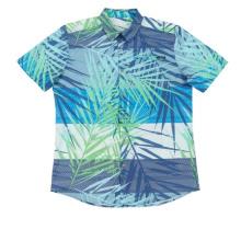 Camisa de licra de poliéster para hombres frescos