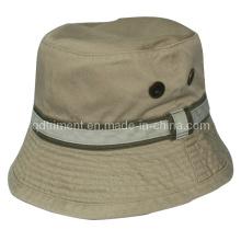 Ojales de metal de sarga de algodón de pesca de ocio cuchara Hat (TMBH9463)