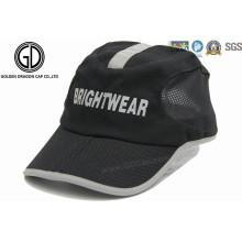 Stylish Printing Reflective Polyester Golf Sun Hat / Sports Cap