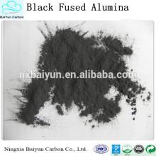 Poço de preço competitivo, pó de alumina fundido preto para moagem e polimento