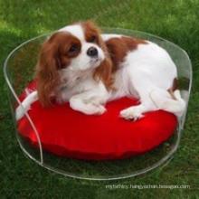 Customized Design Acrylic Cushion Pet Dog Bed