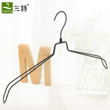 high end steel metal clothes hanger for fashion shop