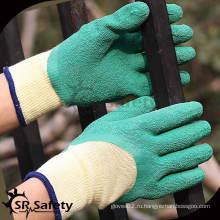 SRSAFETY 10 калибра оптовые продукты безопасности латексные перчатки