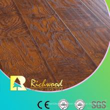 12.3mm E1 AC4 Embossed Oak U-Grooved Waterproof Laminated Flooring