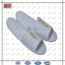 Wholesale High Quality White Disposable Hotel Bathroom Slippers