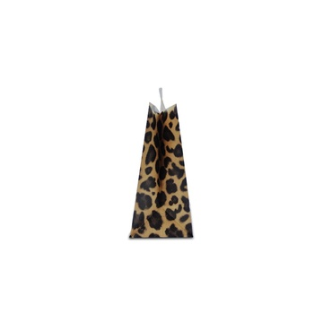 Leopard print cheap paper bag