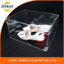 Jinbao Custom clear transparent Acrylic Sneaker Box Shoe Box