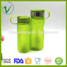 PCTG drinking sport water plastic bottle heat resistance cylinder shape