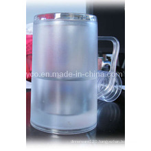 Plastic Double Wall Tankard with Freezable Liquid (10PD09131)
