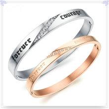 Brazalete de la joyería de la manera de la joyería del acero inoxidable (BR146)