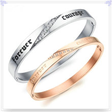 Stainless Steel Jewellery Fashion Jewelry Bangle (BR146)
