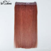 Unverarbeitete Großhandel Farbe Fischdraht Haarteile