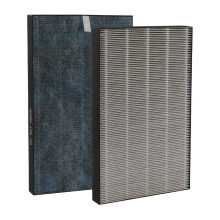 FZ-W45HF replacement cabin air filters hepa activated carbon filter for sharp air purifier KC-W45 series