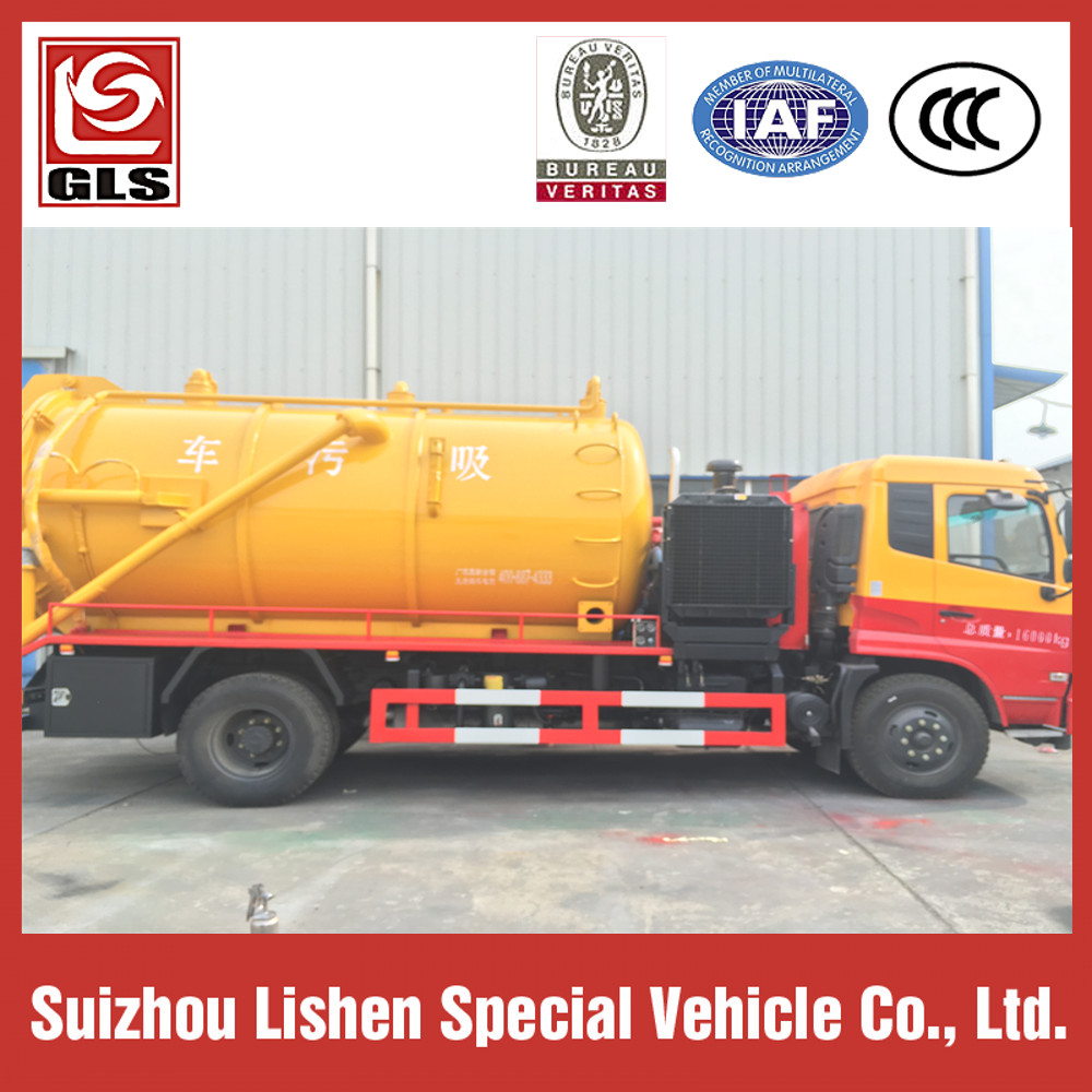 High Pressure Suction Truck