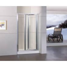 Porte de douche bifold avec revêtement facile à nettoyer Duble-Side (WA-B090)