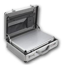 Aluminium Designer Aktentaschen Laptoptasche Aluminium Box