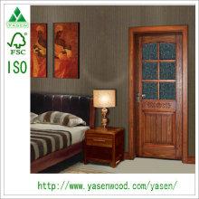 Puerta de madera de la venta caliente del diseño comercial de China