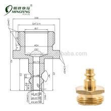 standard air compressor quick-connect 1/4 industrial interchange +3/4 male garden hose thread