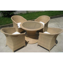 Outdoor Rattan Aluminium Bistro Restaurants Set Stühle
