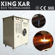 Máquina de corte de aço com gerador de oxidrogênio
