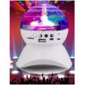 Audio sans fil de LED Bluetooth, haut-parleurs colorés de lumières, mini audio